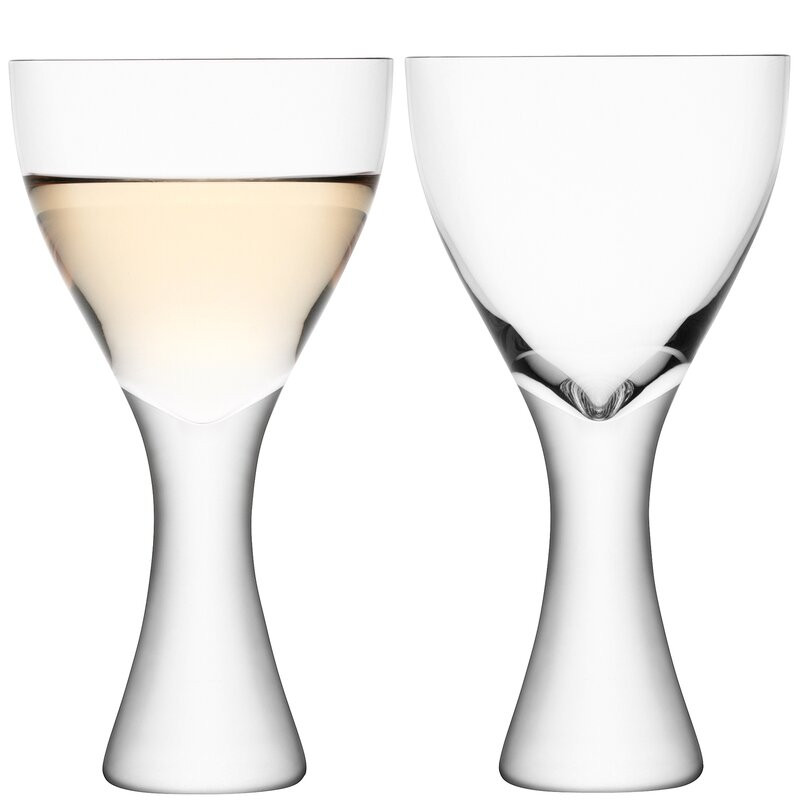 Set de 2 pahare Martini Elina, 400ml