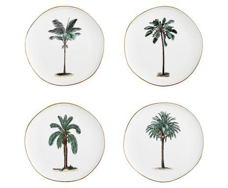 Set de 4 farfurii pentru micul dejun Palmieri chilipirul-zilei.ro