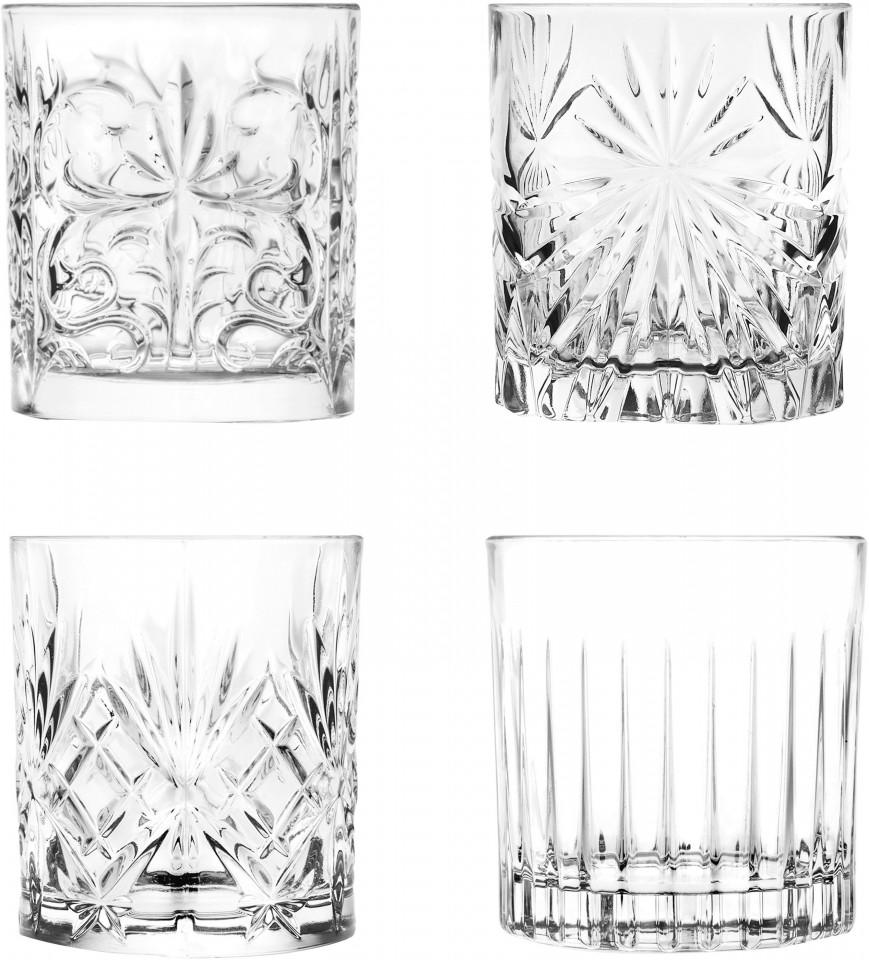 Set de 4 pahare de whisky din cristal, 310 ml chilipirul-zilei.ro