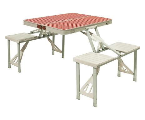 Set picnic cu masa si 4 scaune Festival