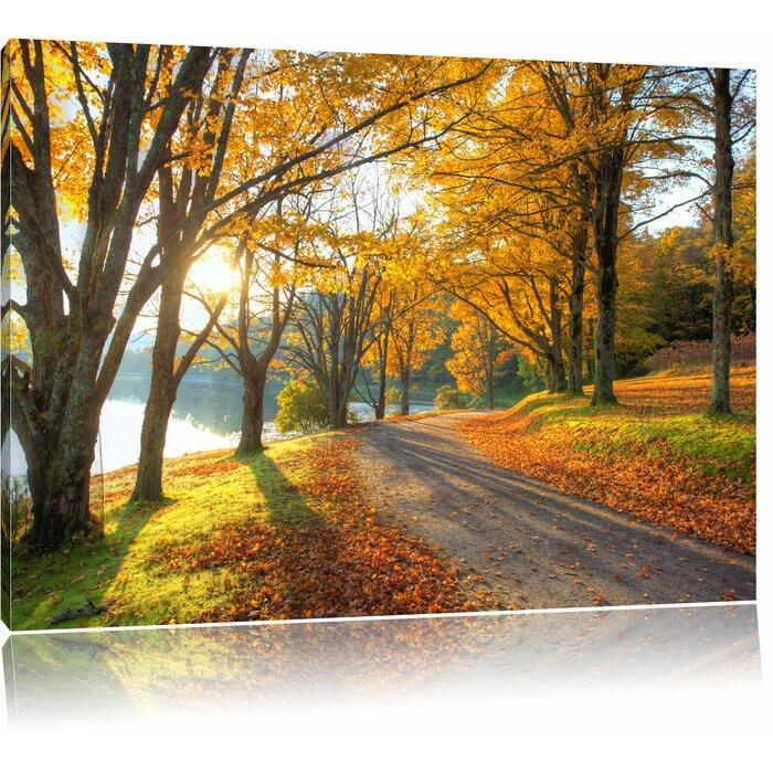 """Tablou """"Peisaj de toamnă"""", 70 x 100 cm chilipirul-zilei 2021"""