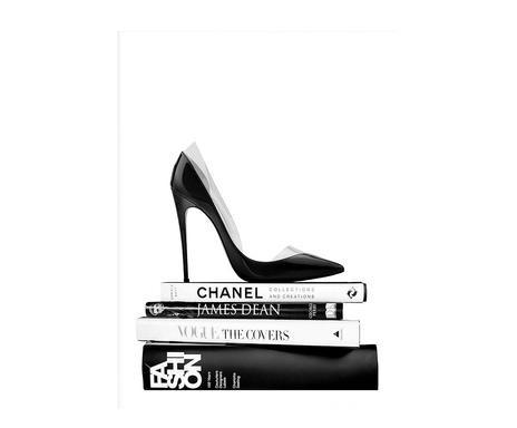 Tablou Black Shoe, 30x40 cm poza chilipirul-zilei.ro