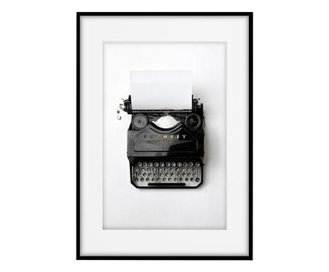 Tablou Typewriter, 30 x 40 cm