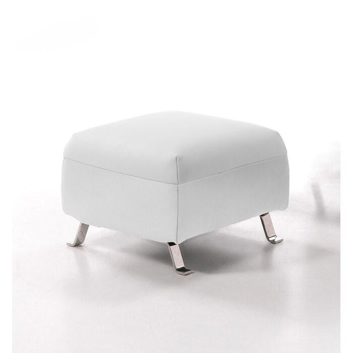 Taburet DelaRosa, MDF, alb, 40 x 57 x 57 cm chilipirul-zilei 2021
