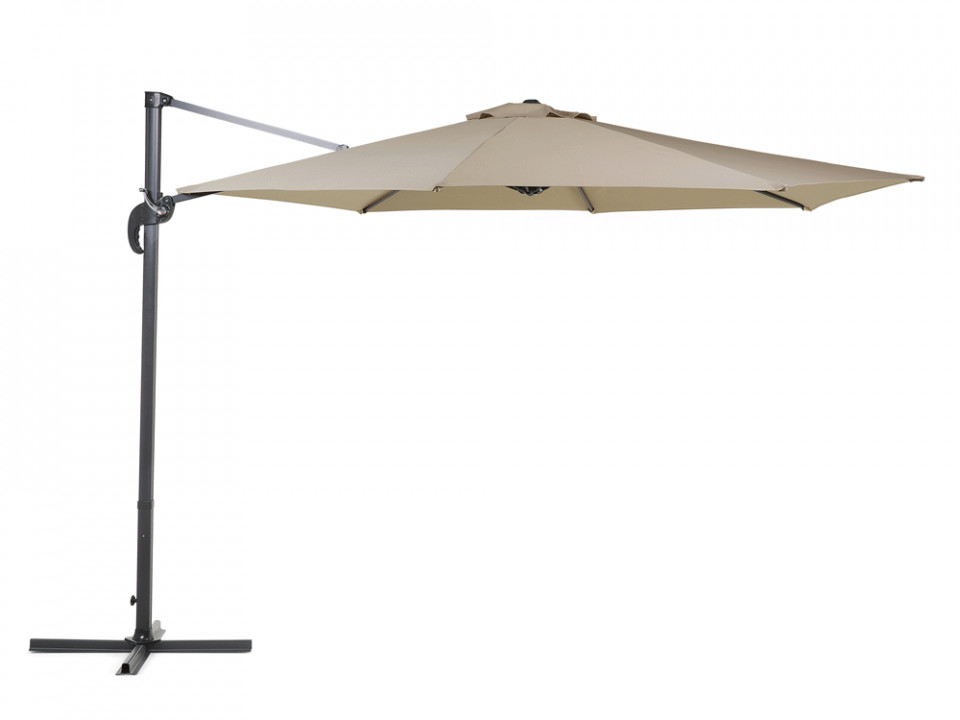 Umbrela SAVONA, moca, 240 x 300 x 300 cm imagine chilipirul-zilei.ro