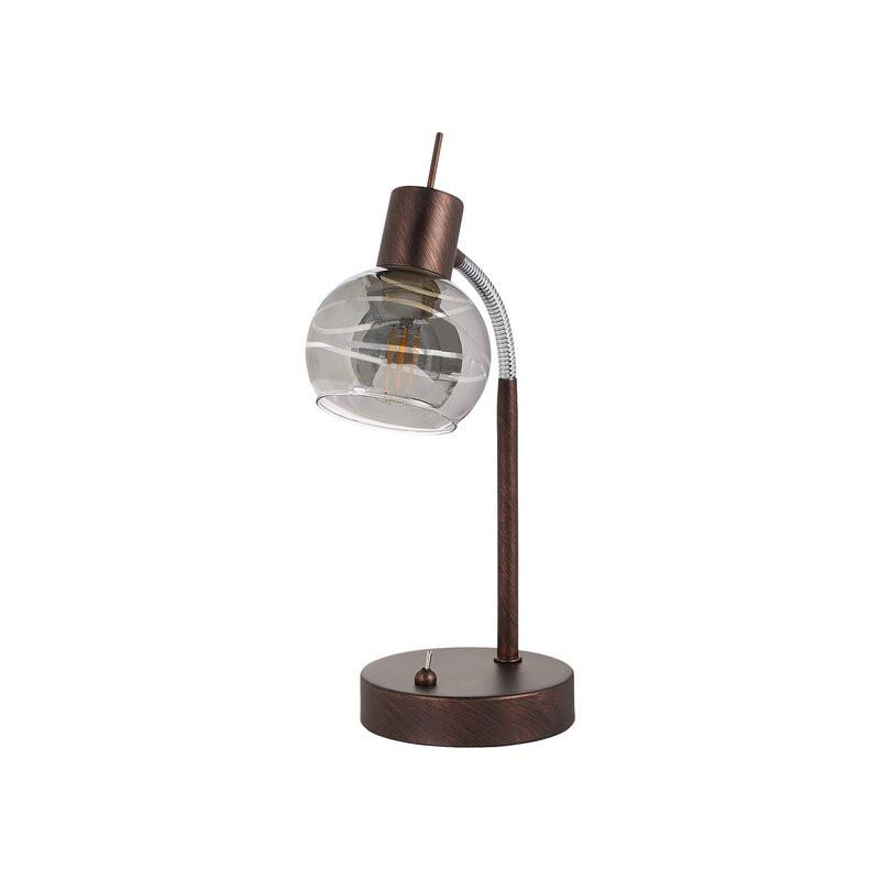 Veioză din metal, bronz, 34cm H x22cm L x 12cm D chilipirul-zilei 2021
