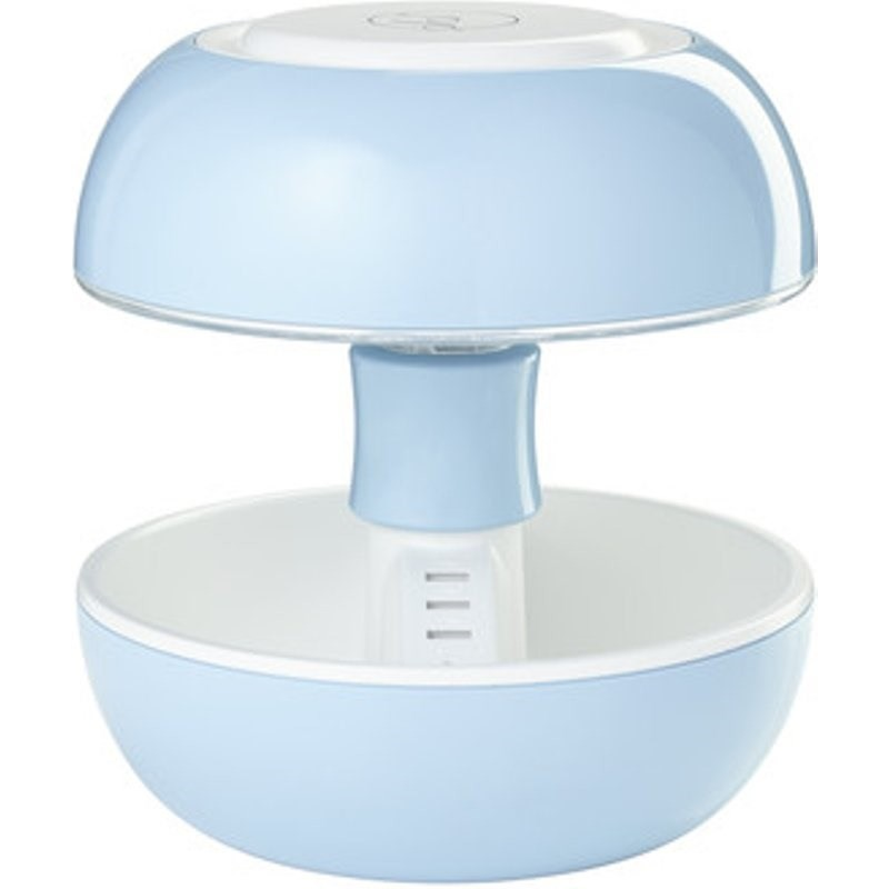 Veioza Joyo Candy plastic, albastra, diametru 25 cm, 3.5 W imagine