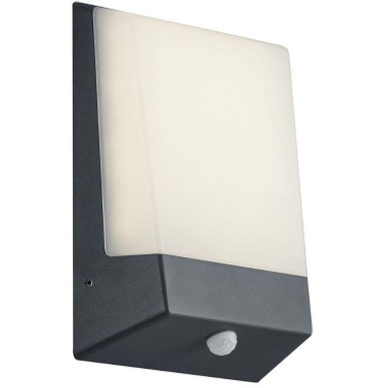 Aplica LED de exterior Kasai , antracit/alb