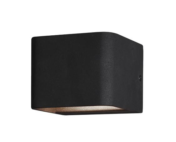 Aplica Verzy I, metal, neagra, 11 x 9 cm, 43w imagine 2021 chilipirul zilei