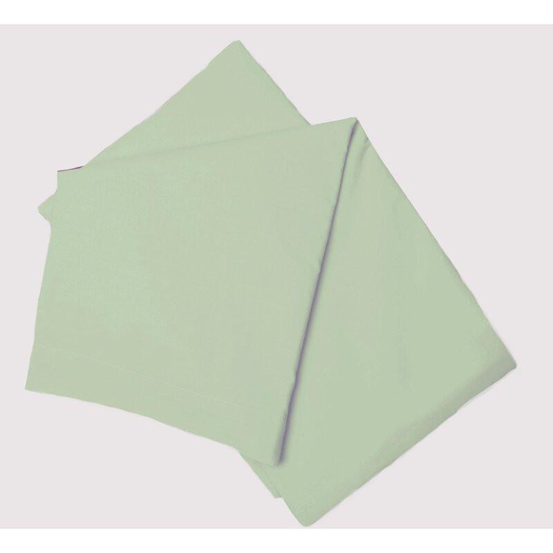 Cearsaf de pat Belledorm, verde, 137 x 191 cm
