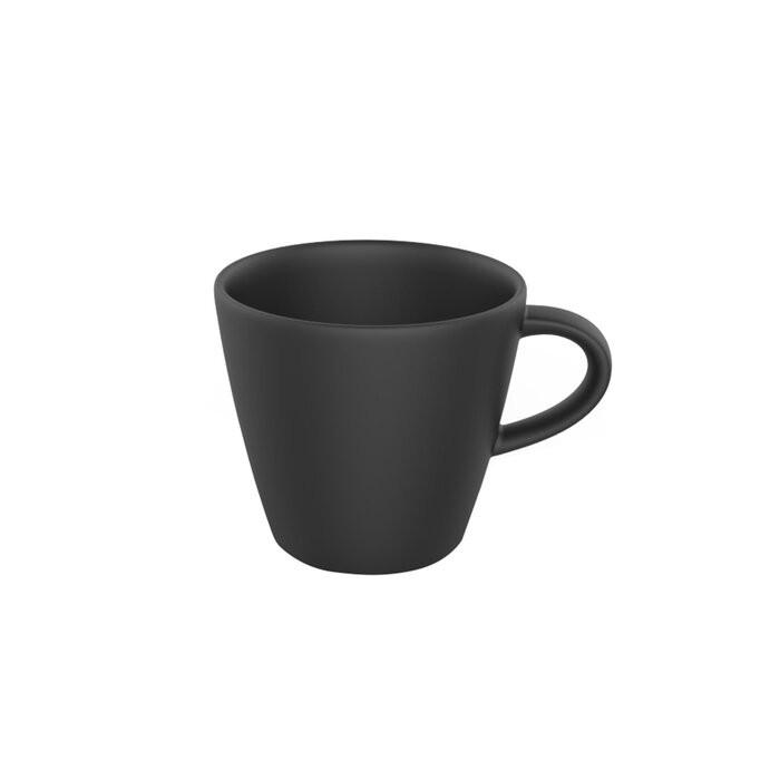 Ceasca de cafea, neagra, 9,5 x 32 cm chilipirul-zilei.ro