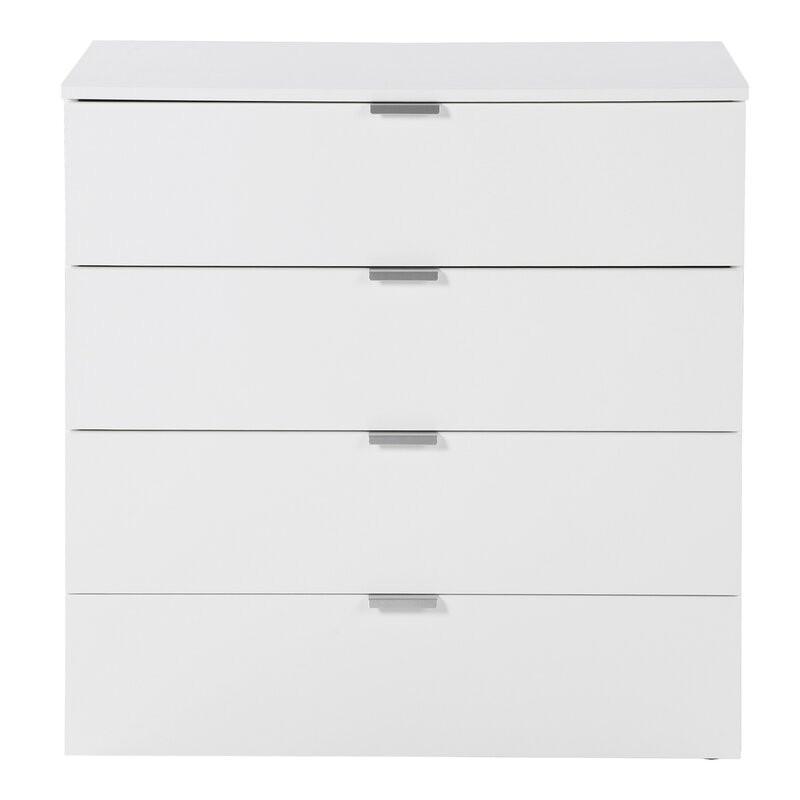 Comoda Oceanside, alb, 80 x 80 x 42 cm image0