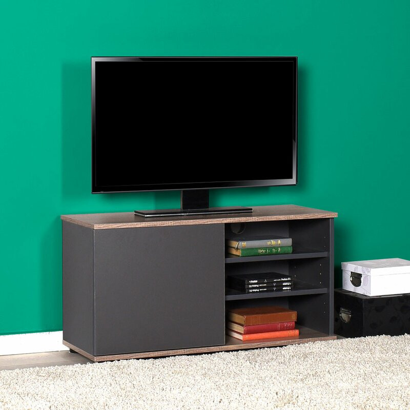 "Comodă TV 39 "" Windley, gri, 90 x 35 cm"