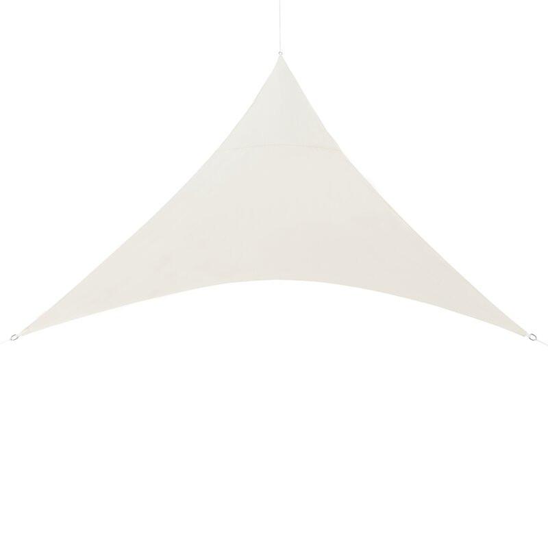Copertină parasolar triunghiulară Mead, 4m x 4m