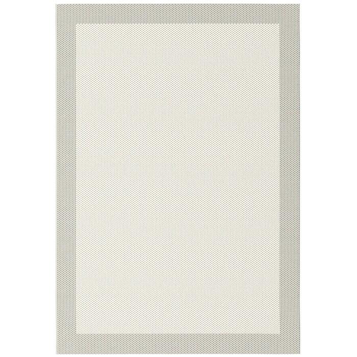 Covor Darcella, polipropilena, crem/gri, 80 x 150 cm