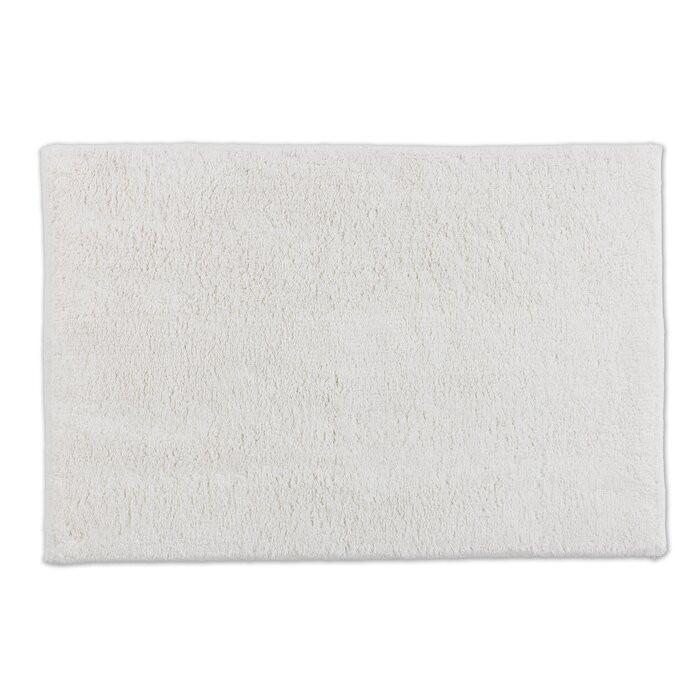 Covor de baie Bahamas, bumbac, alb, 90 x 60 cm 2021 chilipirul-zilei.ro