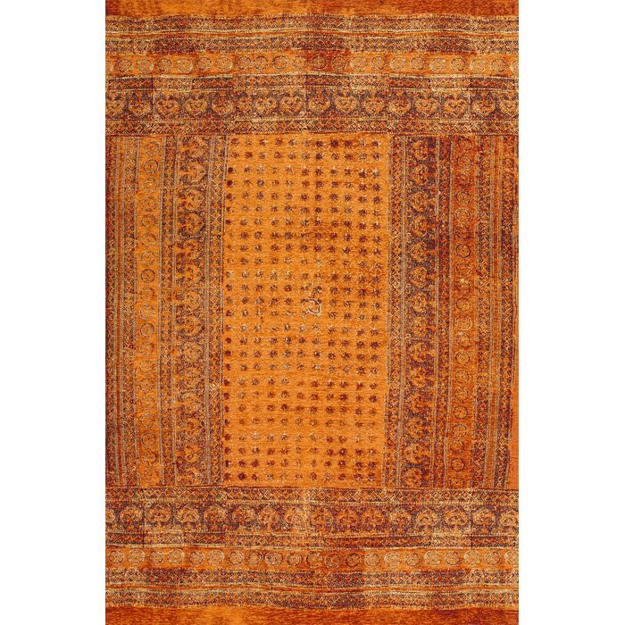 Covor Indian, teracota/rosu, 155 x 180 cm poza chilipirul-zilei.ro