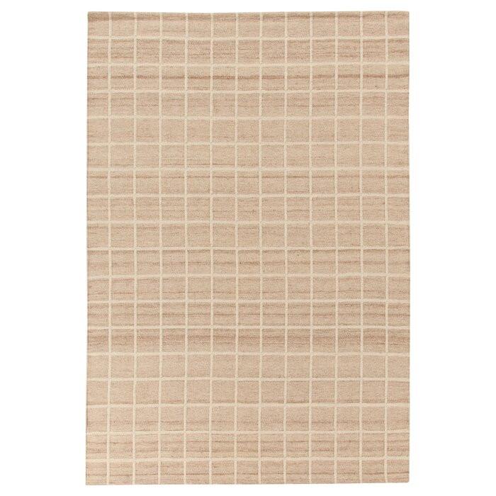 Covor Kilim, lana/bumbac, crem, 60 x 120 cm chilipirul-zilei.ro