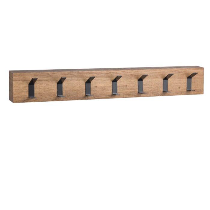 Cuier Adrianne, lemn/metal, maro, 10 x 7 x cm