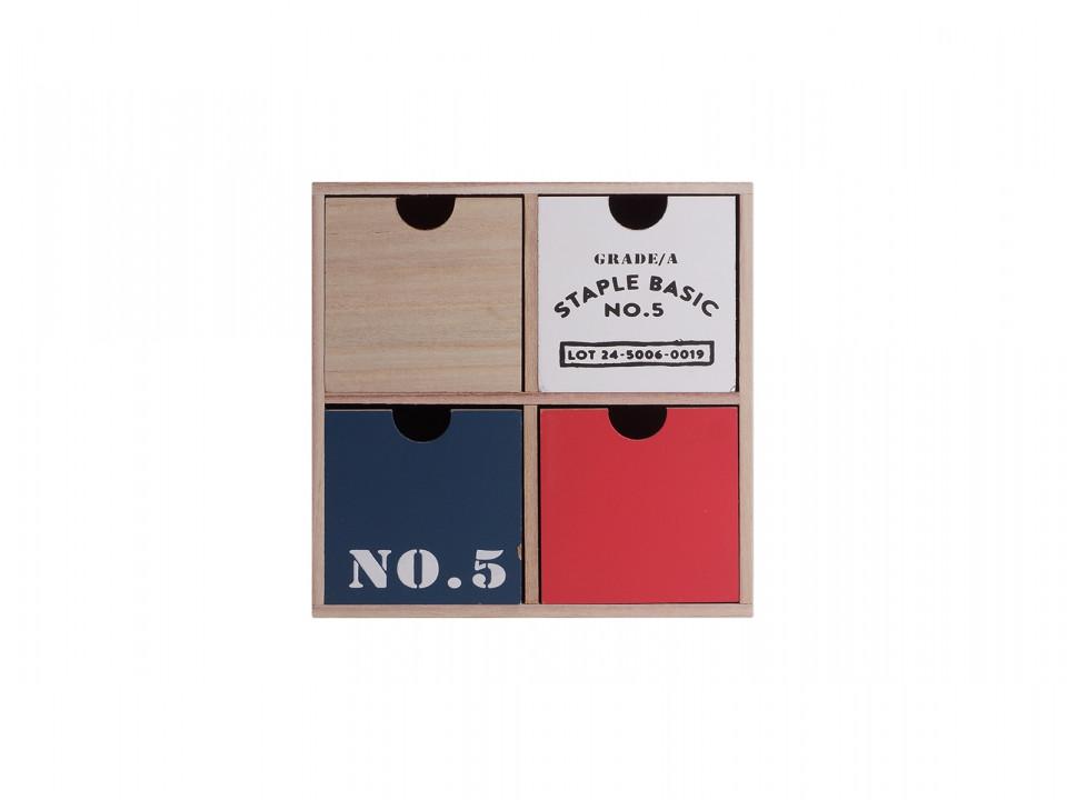 Cutie pentru accesorii Karll, 225 x 102 x 225 mm imagine chilipirul-zilei.ro