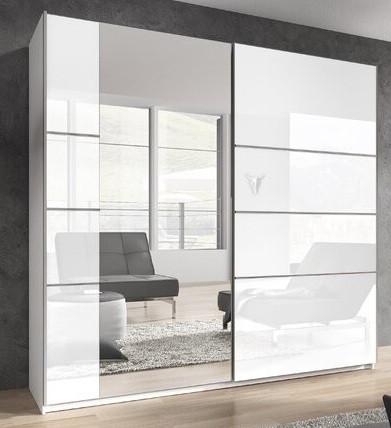 Dressing Denver, alb lucios, 210 x 200 x 61 cm chilipirul-zilei 2021