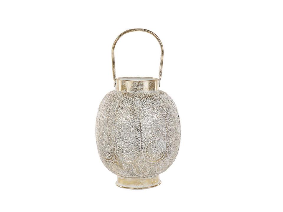 Felinar LANTAU, metal/sticla, 25 x 25 x 30 cm
