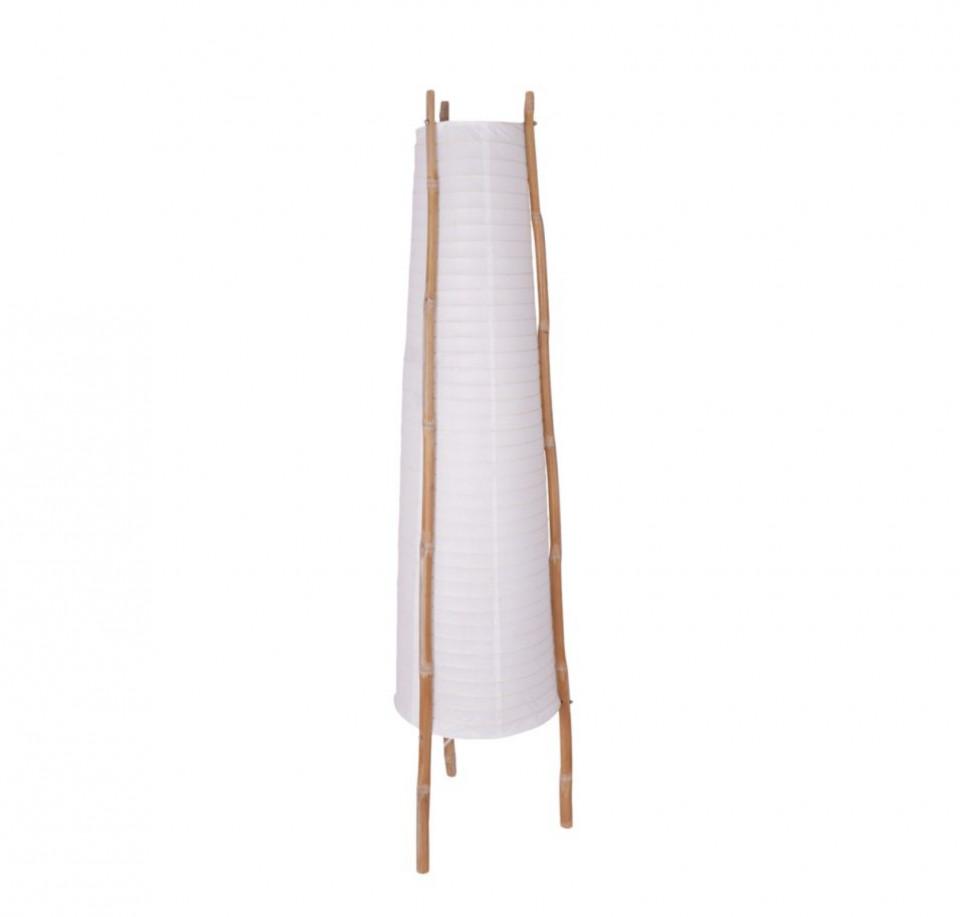 Lampadar Bamboo hartie / bambus - 2-becuri