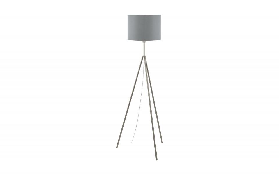 Lampadar Scigliati, metal/textil, gri, 144 x 34 cm, 60w imagine 2021 chilipirul zilei