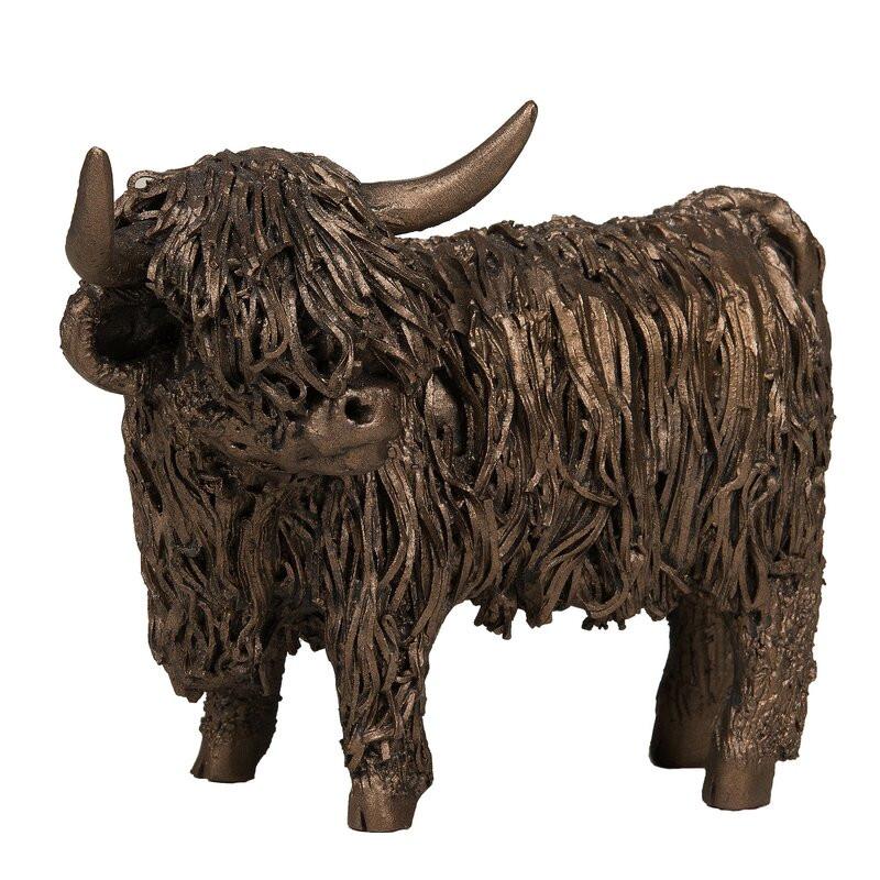 Obiect decorativ Highland Standing Cow