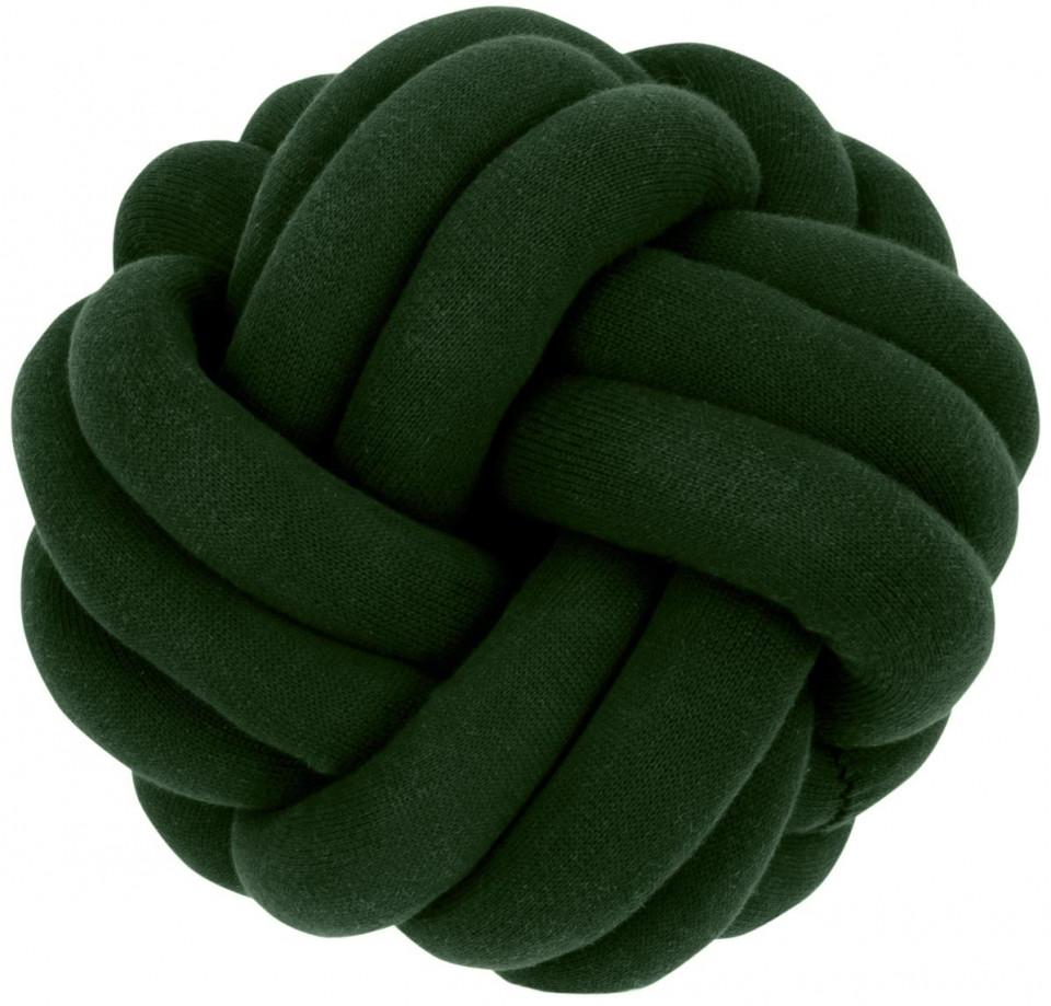 Pernă decorativă Knot, verde, 30 x 15 cm poza chilipirul-zilei.ro