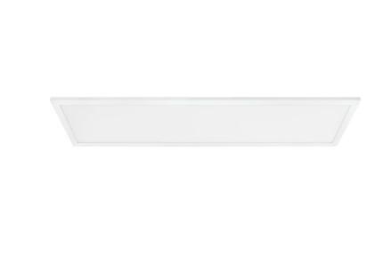 Plafoniera Bottazzo II, LED, poliester, 100 x 6 x 25 cm