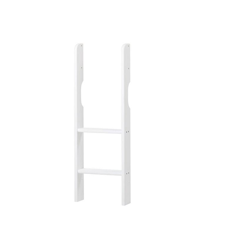 Scara pentru pat din lemn masiv, alb