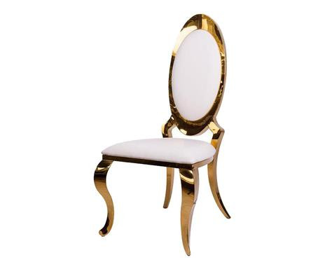 Scaun Orus cu spate oval, auriu