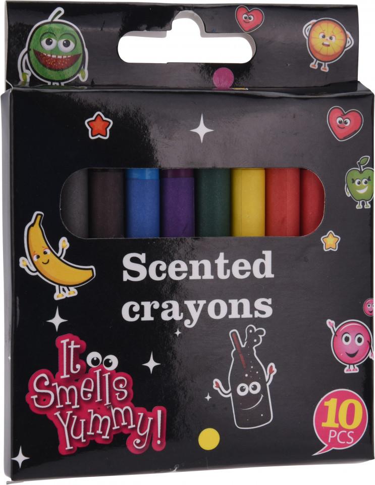 Set de 10 creioane cerate parfumate Karll( 586608)
