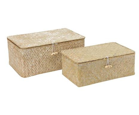 Set de 2 cutii decor Lina