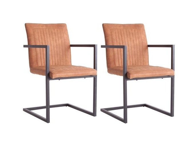 Set de 2 scaune cu brate Wade poza chilipirul-zilei.ro