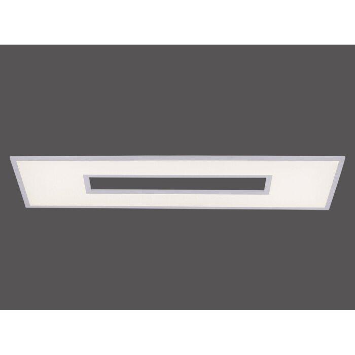 Spot LED Ocampo, metal, alb, 5 x 40 x 120 cm 2021 chilipirul-zilei.ro
