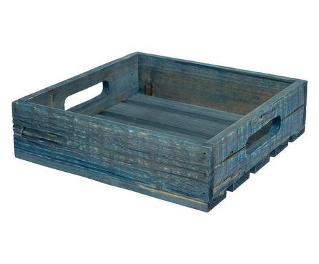 Suport șervețele Maison albastru, 22x22cm