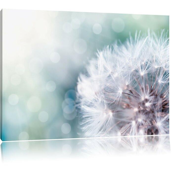 """Tablou """"Păpădie"""", albastru/alb, 60 x 80 cm poza chilipirul-zilei.ro"""