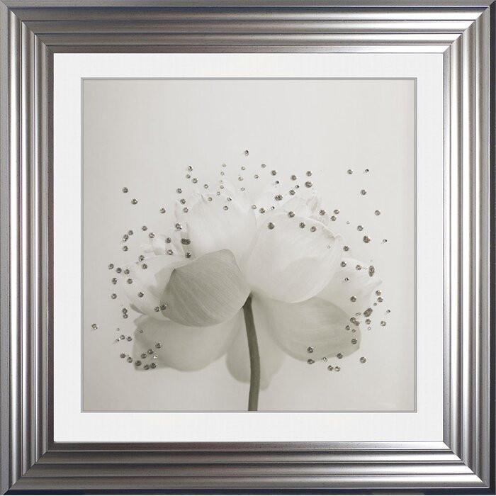 Tablou 'Lotus 2', 75 x 75 cm imagine chilipirul-zilei.ro