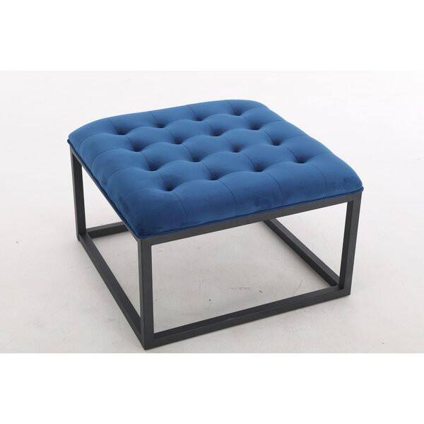Taburet Mthimunye, Albastru, 44 x 72 x 72 cm