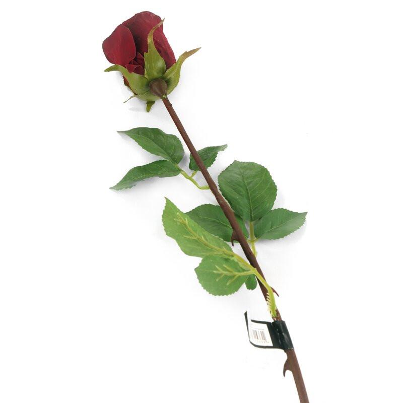 Trandafir artificial din mătase