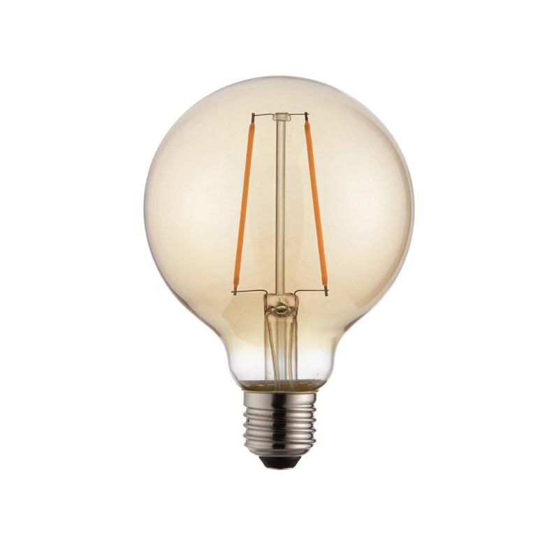 Bec 2W E27 LED Vintage Edison Amber imagine