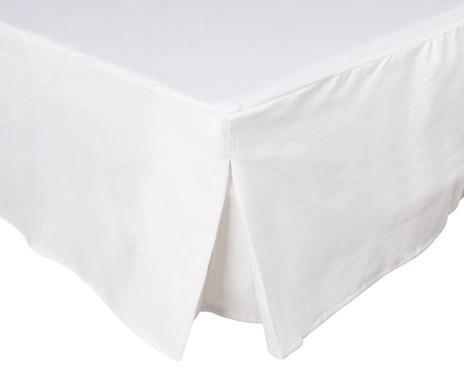 Cearșaf de pat Basic, alb, 200x160 cm