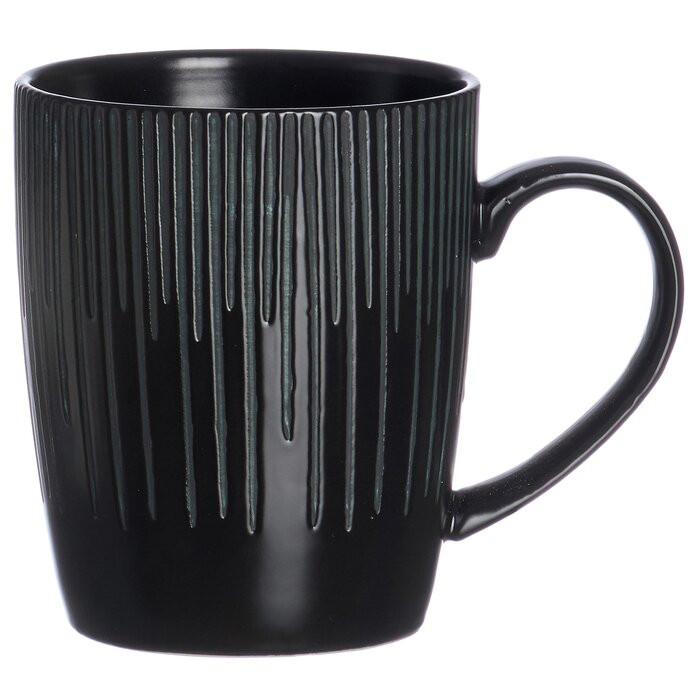 Ceasca de cafea Saporo, portelan, neagra, 10 x 9 cm 2021 chilipirul-zilei.ro