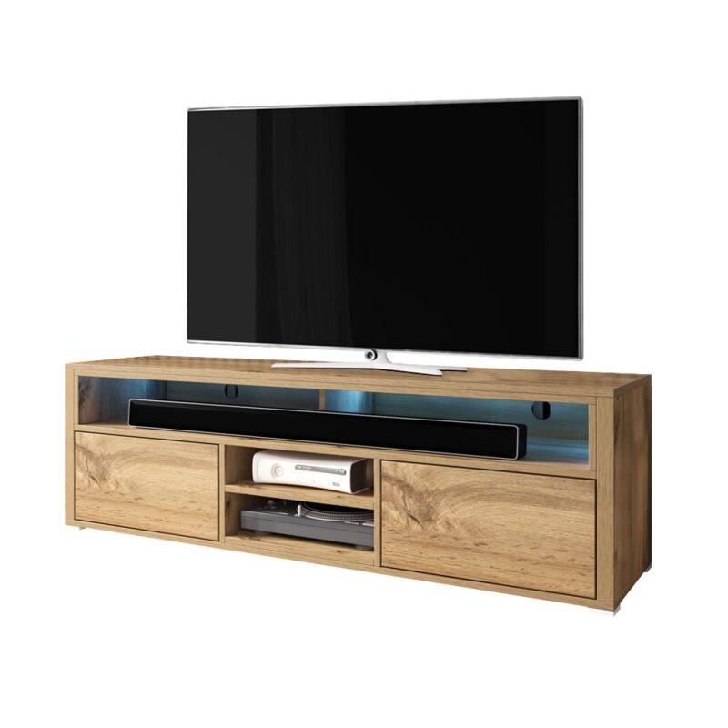 Comodă TV 50  Mario, 137cm L x 42,5cm H x 33cm D