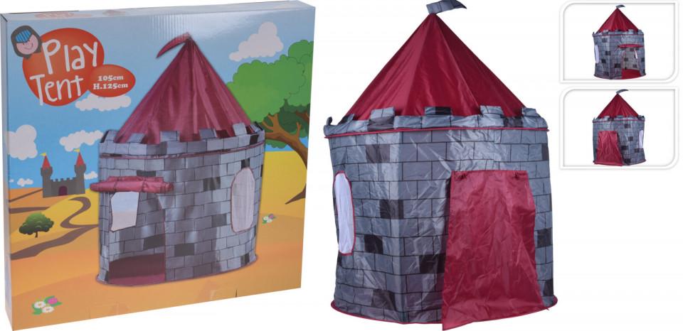 Cort Karll de joaca Castelul Cavelerului, poliester, 105 x 125 cm