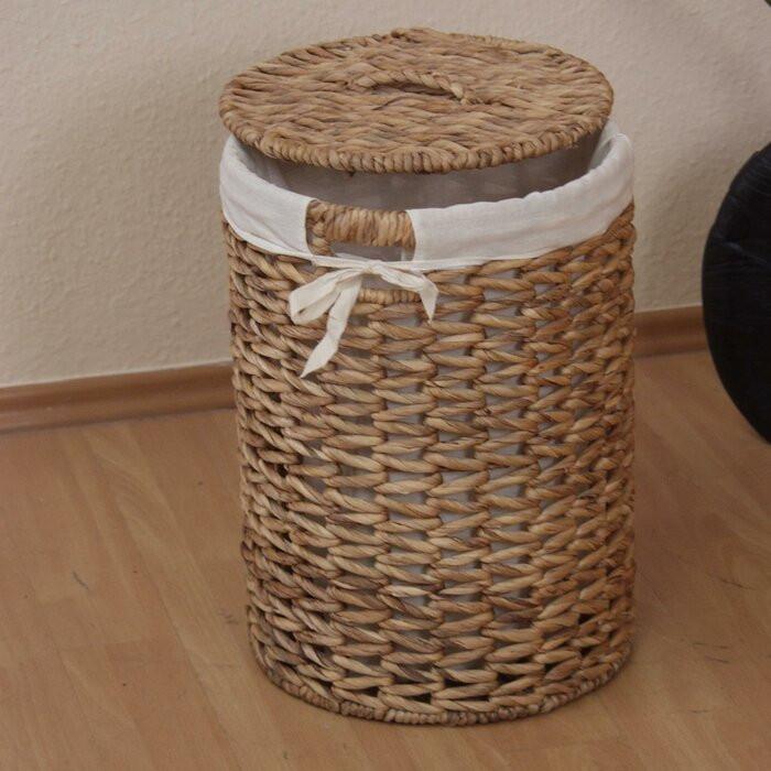 Cos pentru rufe, maro, 46 x 32 x 32 cm poza chilipirul-zilei.ro
