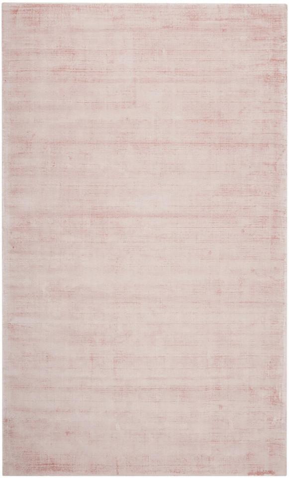 Covor din vascoza tesut manual Jane, 120 x 180 cm, gri roz