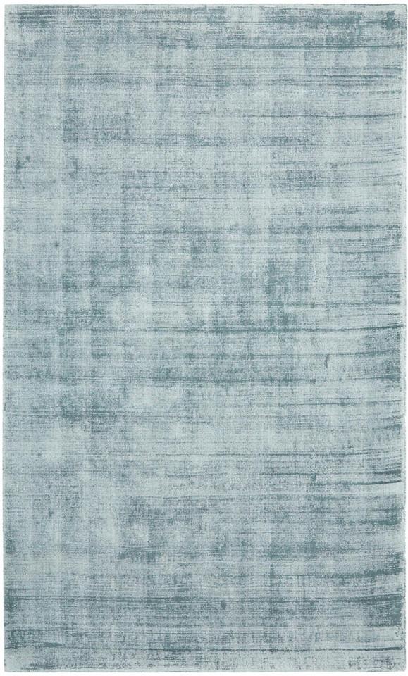Covor din vascoza tesut manual Jane, 160 x 230 cm, gri albastriu 2021 chilipirul-zilei.ro